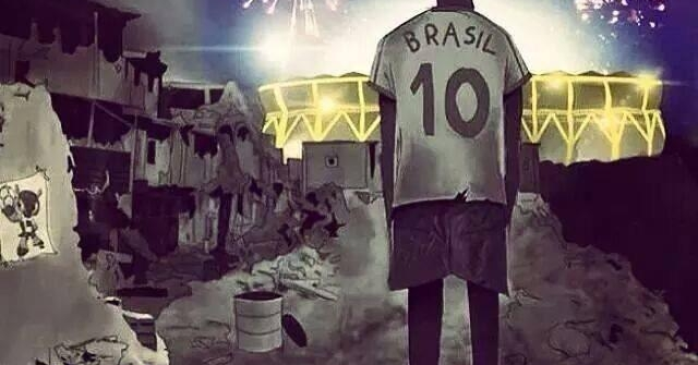 Vamos torcer pelo Brasil, mas pelas manifestações também