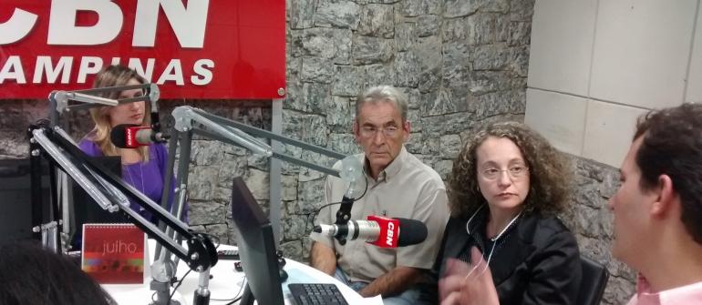 Luciana Genro faz campanha em Campinas