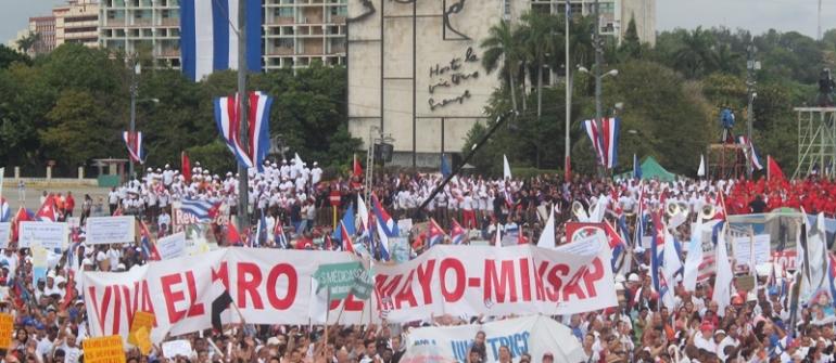 1º de maio em Cuba – vídeo